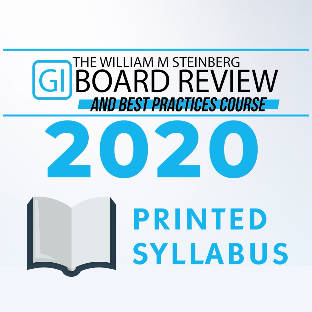 2020 Printed Syllabus