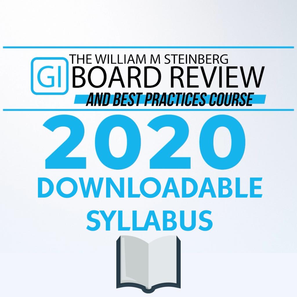 2020 Syllabus - Digital Download